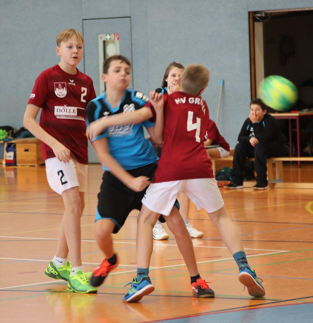 Punktspiel D-Jugend HV Grüna