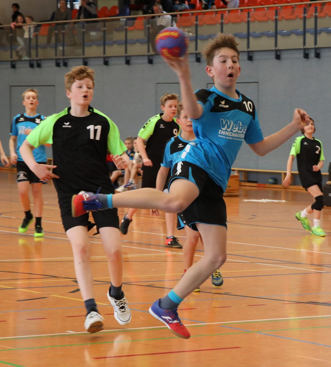 Punktspiel D-Jugend SG Chemnitzer HC